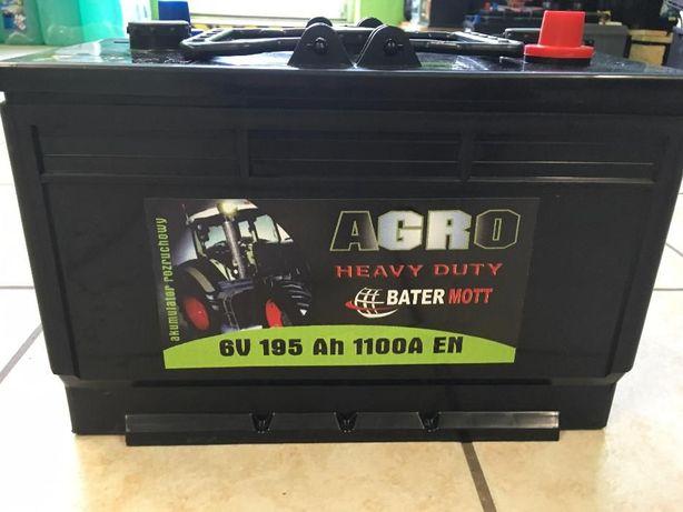 Akumulator BATERMOTT 195Ah 1100A dla rolnictwa!!! Najniższa cena!!!