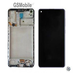 Ecrã Display LCD Touch Samsung A21S Galaxy A217F ORIGINAL GSMobile.pt