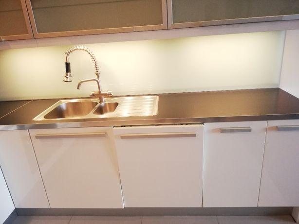 Sprzedam meble kuchenne białek, lakierowane IKEA z AGD