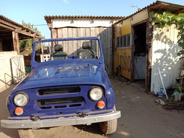Продам УАЗ 469 синий
