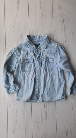 Koszula jeansowa 98