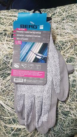 Рабочие перчатки с защитой от порезов