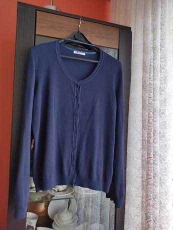 Granatowy sweterek rozm 48