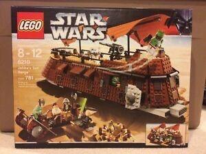 Лего 6210 Парусная баржа Джаббы - Lego Jabba´s Sail Barge Star Wars