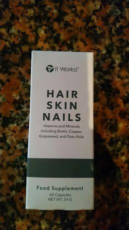 Cura unhas e cabelo it Works