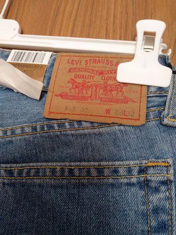 Nowe z metką jeansy Levi's W26 L32