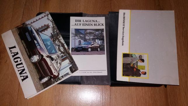 renault laguna I instrukcja obsługi książka