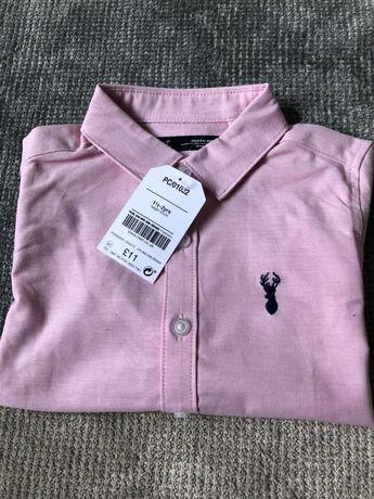 Next koszula różowa wizytowa
