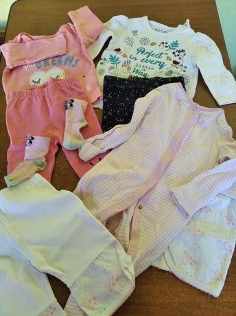 Пакет вещей для девочки 3-6мес