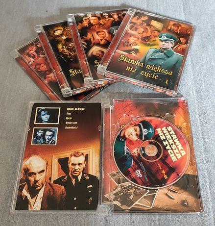 Stawka większa niż życie - wydanie kolekcjonerskie DVD