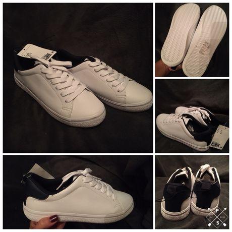 Продам кроссовки кеды сникерсы подростковые h&m, размер 37