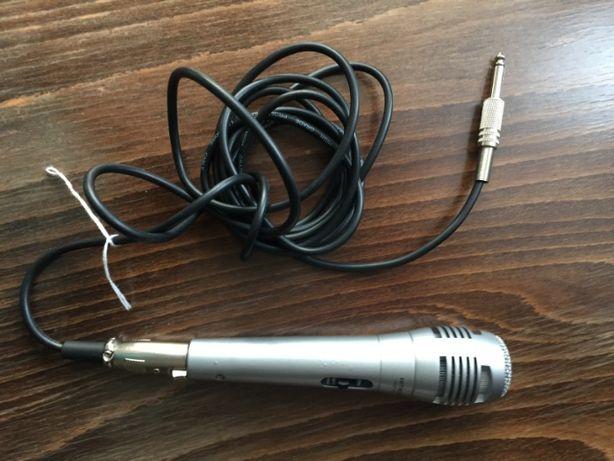 Mikrofon Dynamiczny Hitachi HMP 606 profesjonalny aluminiowy+kabel