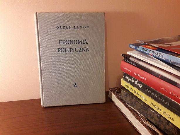 """Książka """"Ekonomia polityczna"""" Oskar Lange"""