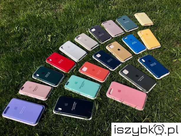 Silicone case , etui IPhone 6 7 8 X XS XR XS Max 11 11 pro Max