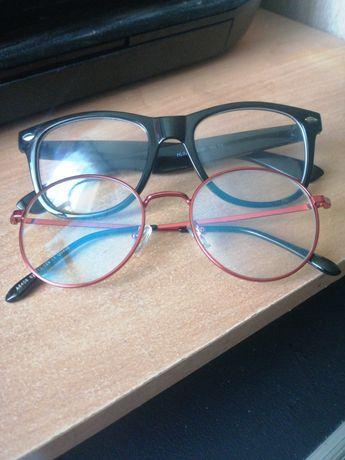 Okulary zerówki dwie pary