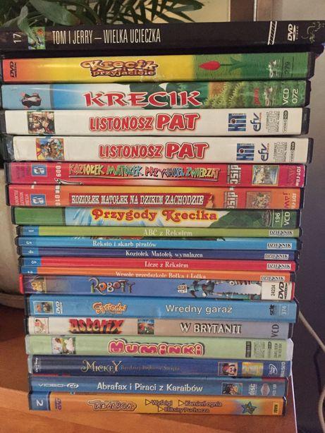 Kasety/ płyty DVD klasyki bajek dla dzieci