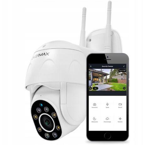 Kamera zewnętrzna Obrotowa WiFi IP Monitoring FULLHD Garaż Dom SD 128G