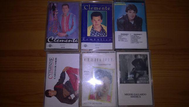 Cassetes audio diversas - 20 unidades