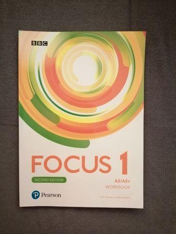 FOCUS 1 second edition poziom A2 /A2+ Pearson  nowe ćwiczenia