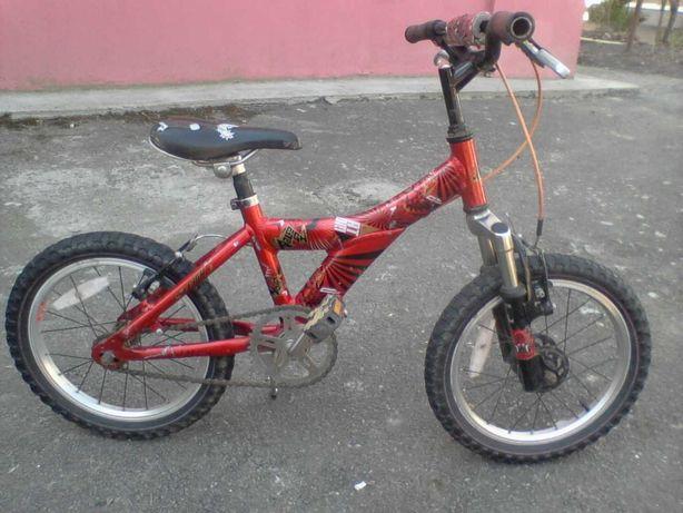 Велосипед из Европы алюминиевый 16 дюймов для мальчика - от 3 до 7 лет