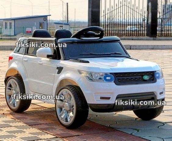 Детский электромобиль FL 1638 EVA WHITE, Дитячий електромобiль