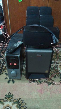 Microlab x23 домашний кинотеатр 5.1