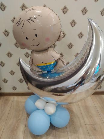 Гелевый шарик Малыш