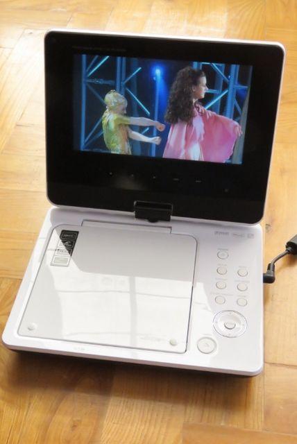 Przenośny odtwarzacz DVD LG DP371B