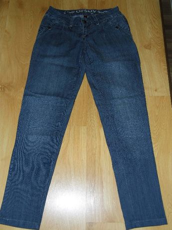 Spodnie jeansowe damskie Orsay, rozm 34