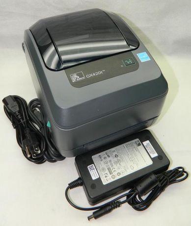Термотрансферный принтер 【Zebra GX420t】 ⇒ Печать на гибких носителях.