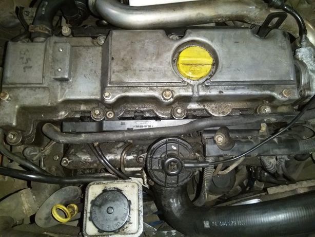 Двигун по запчастинах мотор Опель вектра б 2,0 DTI