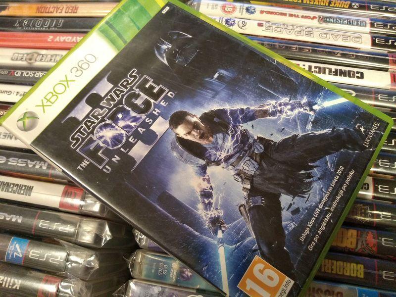 Star Wars Fotce Unleashed II Xbox 360 --- możliwość zamiany SKLEP