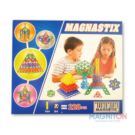 Конструктор магнітний Magnastix (228 деталей)