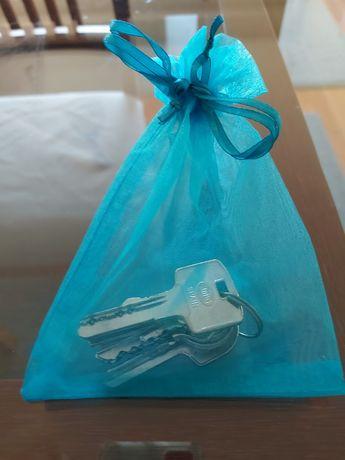 Sacos organza 15cmx12cm Azul turquesa 100 unidades