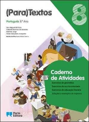 Caderno de Atividades  - 8.º Ano, várias disciplinas