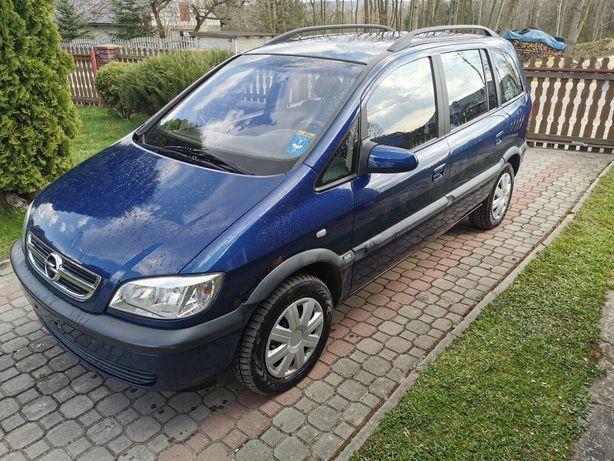 Opel Zafira 1.8 16 v 125 ps 1 właściciel Klima 7 osób