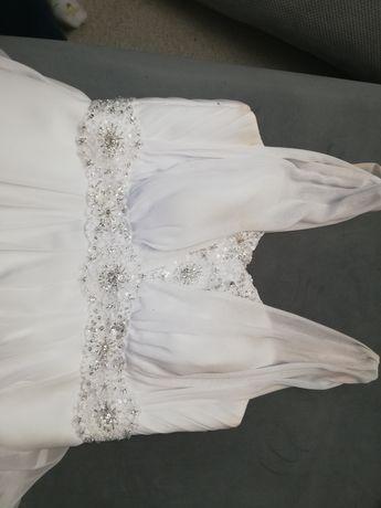 Śliczna suknia ślubna rozmiar 38-40