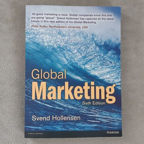 S. Hollensen-Global Marketing książka PO ANGIELSKU angielski books