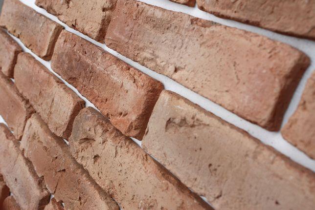 Stara Cegła - Naturalny jasny , cegła ,płytki z cegły