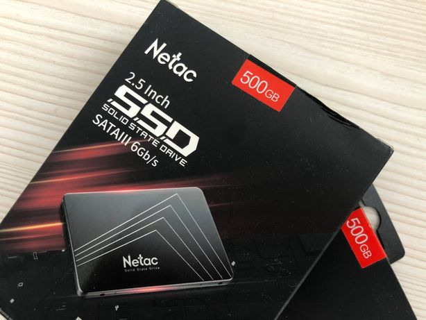 "SSD накопитель NETAC N530S 500GB 2.5"" SATA, скоростной диск, не HDD"