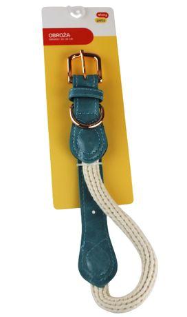 Eloy Pets Obroża dla psa 30-38cm bawełniana