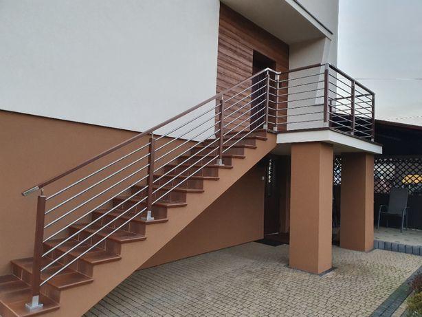 Balustrada tarasowa Fello STANDARD balkon taras aluminium barierka
