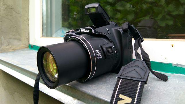 Nikon L810+Чехол-Сумка!Красный,Черный,Фотоаппарат!не Canon,Sony
