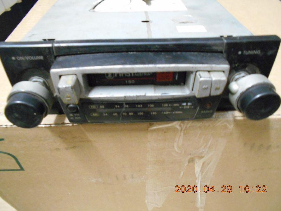 kultowy radiomagnetofon First Austria model n.150 za czekoladę milkę