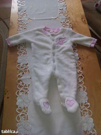 Ciepły pajacyk dla dziewczynki baby gear z usa.