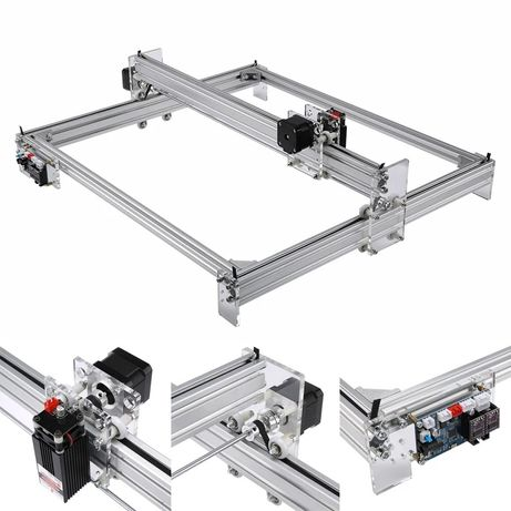 Gravadora laser 2500mw 50x65cm CNC