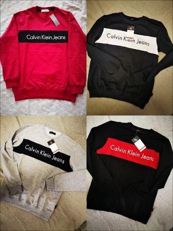 S- XXL Premium Calvin Klein Bluza z paskiem HIT