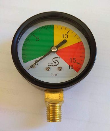 Manometr suchy 0-16 BAR FI63, G1/4 DÓŁ - do opryskiwacza