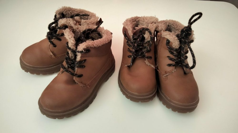 Зимові дитячі черевички  Zara Стрый - изображение 1