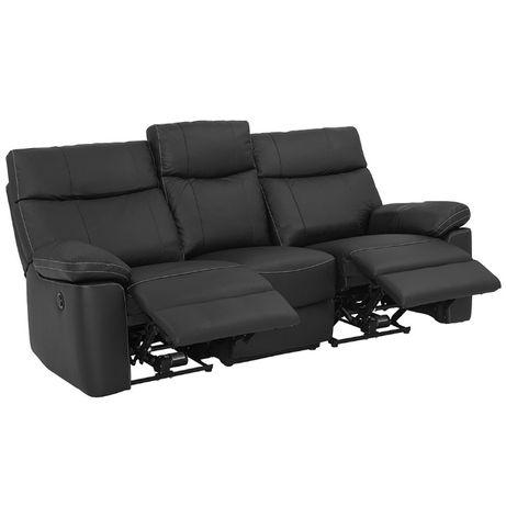 Vendo sofa relax pele 3 Lugs